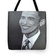 Barack Obama Tote Bag by Richard Le Page
