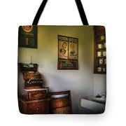 Barber - The Cash Register  Tote Bag by Mike Savad