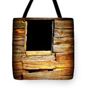 Barn Window Tote Bag by Perry Webster