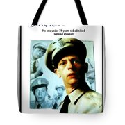 Barney Poster Tote Bag by Joan  Minchak