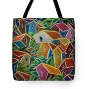 Barrio Lindo Tote Bag by Oscar Ortiz