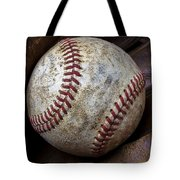 Baseball Close Up Tote Bag by Garry Gay