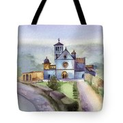 Basilica Of St Francis  Assisi Tote Bag by Lydia Irving