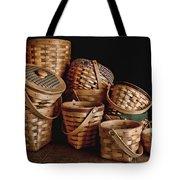 Basket Still Life 01 Tote Bag by Tom Mc Nemar
