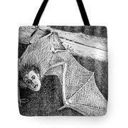 Bat Man Tote Bag by Arline Wagner