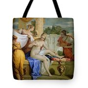 Bathsheba Bathing Tote Bag by Sebastiano Ricci