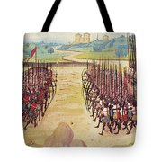Battle Of Agincourt, 1415 Tote Bag by Granger