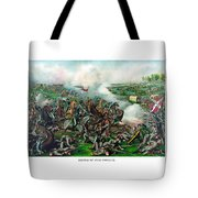 Battle Of Five Forks Tote Bag by War Is Hell Store