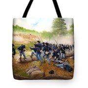 Battle Of Utoy Creek Tote Bag by Marc Stewart