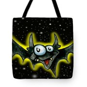 Batty Tote Bag by Kevin Middleton