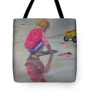 Beach Baby Tote Bag by Lea Novak