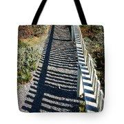 Beach Path Tote Bag by Carol Groenen