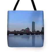 Beantown On Ice Tote Bag by Juergen Roth