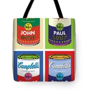 Beatles Soup Tote Bag by Gary Grayson