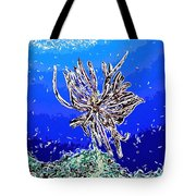 Beautiful marine plants 1 Tote Bag by Lanjee Chee