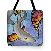 Beauty In The Beasts Tote Bag by Lucy Arnold