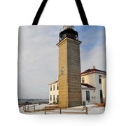 Beavertail Light Tote Bag by Catherine Reusch  Daley