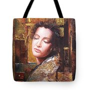 Because You Are Beautiful Tote Bag by Sinisa Saratlic