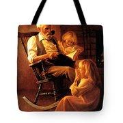 Bedtime Stories Tote Bag by Greg Olsen