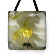 Bee Mine Tote Bag by Teresa Mucha