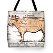 Beef Tote Bag by French School