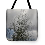 Being With Dying Tote Bag by Dagmar Ceki