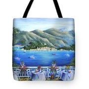 Bellagio From The Cafe Tote Bag by Marilyn Dunlap