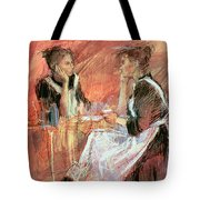 Below Stairs  Tote Bag by Felicity House