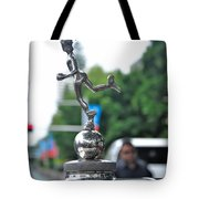 Benz 1916 Ds2 - Hood Ornament Tote Bag by Kaye Menner