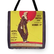 Bertram Mills Circus Poster Tote Bag by Dudley Hardy