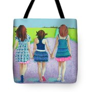 Best Friends Tote Bag by Tracy L Teeter