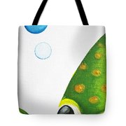 Betta Bubble Tote Bag by Oiyee At Oystudio