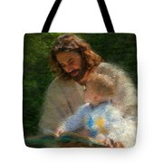 Bible Stories Tote Bag by Greg Olsen