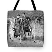 Bicycling, 1886 Tote Bag by Granger