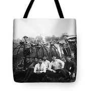 Bicyle Riders, C1880s Tote Bag by Granger