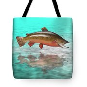 Big Fish Tote Bag by Jerry McElroy