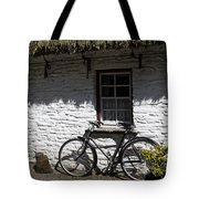 Bike At The Window County Clare Ireland Tote Bag by Teresa Mucha