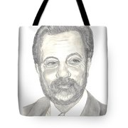 Billy Joel Portrait Tote Bag by Carol Wisniewski