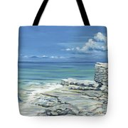 Bimini Blues Tote Bag by Danielle  Perry