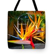 Birds In Paradise Tote Bag by Gwyn Newcombe