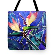 Birds Of Paradise II Tote Bag by Francine Dufour Jones