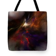 Birth of a thought Tote Bag by David Lane