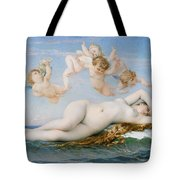 Birth of Venus Tote Bag by Alexandre Cabanel