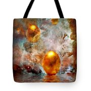 Birth Tote Bag by Jacky Gerritsen