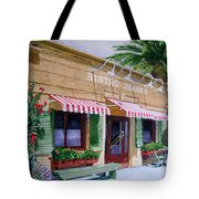 Bistro Jeanty Napa Valley  Tote Bag by Gail Chandler