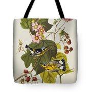 Black And Yellow Warbler Tote Bag by John James Audubon