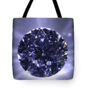 Black Diamond Shine Aura. Tote Bag by Atiketta Sangasaeng