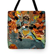 Black Hayagriva Tote Bag by Sergey Noskov