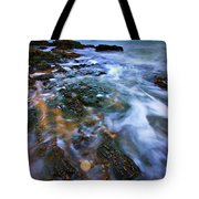 Black Point Light Tote Bag by Meirion Matthias