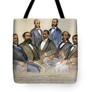 BLACK SENATORS, 1872 Tote Bag by Granger